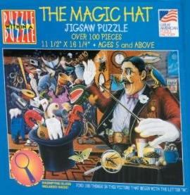 Magic Hat Puzzle Within Puzzle