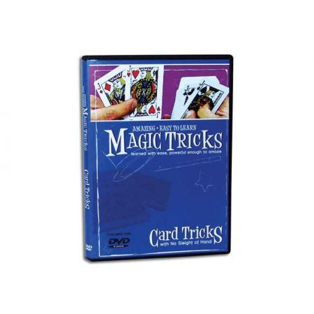 Amazing Easy To Learn Magic Tricks -- Card Tricks DVD