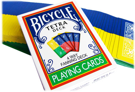 Bicycle Tetra Deck - 4 Way Fanning Deck