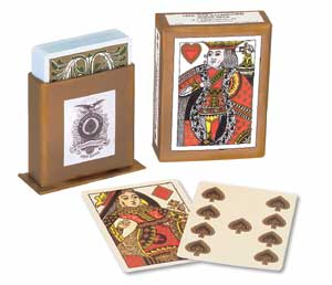 Civil War Illuminated Poker Deck