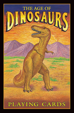 Age of Dinosaurs Playing Cards